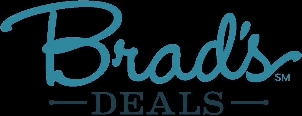 Bradsdeals logo white bg