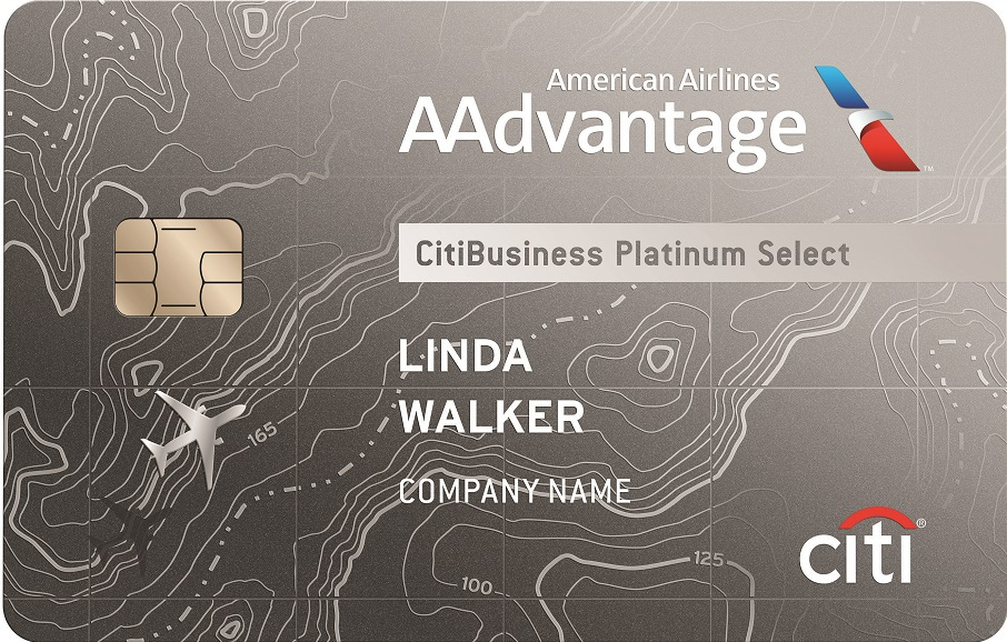 CitiBusiness<sup>®</sup> / AAdvantage<sup>®</sup> Platinum Select<sup>®</sup> World Mastercard<sup>®</sup>